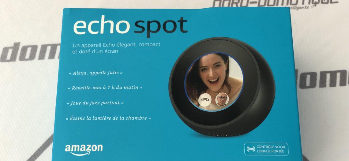 """[Test] Echo Spot d'Amazon, la petite boule tactile connectée<span class=""""wtr-time-wrap block after-title""""><span class=""""wtr-time-number"""">8</span> min de lecture pour cet article.</span>"""