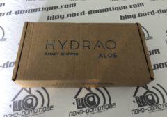 [Test] HYDRAO Aloé, un nouveau pommeau de douche connecté