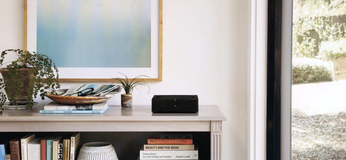 """Sonos présente le nouveau Sonos Amp destiné aux systèmes audio domestiques intelligents<span class=""""wtr-time-wrap block after-title""""><span class=""""wtr-time-number"""">8</span> min de lecture pour cet article.</span>"""