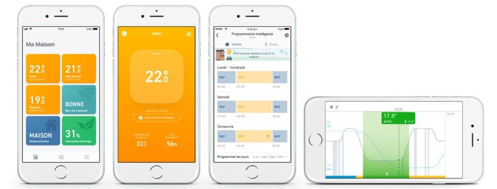 tado-ios-app-1000x382 Nouveaux Thermostats Intelligents tado° V3+ pour un air plus sain et plus de confort
