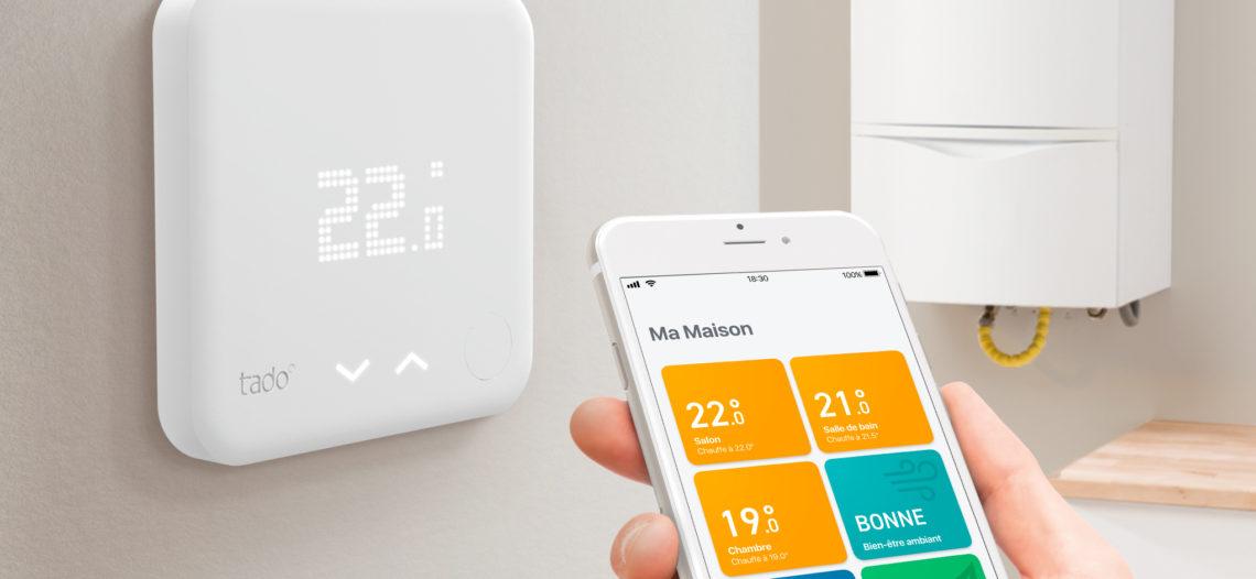 """Nouveaux Thermostats Intelligents tado° V3+ pour un air plus sain et plus de confort<span class=""""wtr-time-wrap block after-title""""><span class=""""wtr-time-number"""">3</span> min de lecture pour cet article.</span>"""