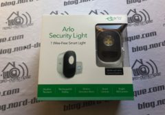 [Test] Arlo Security Light, le système qui illumine l'extérieur et donne l'alerte