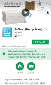 4-installation-appliairsend-211x350 Test de la solution domotique Airsend de chez Devmel