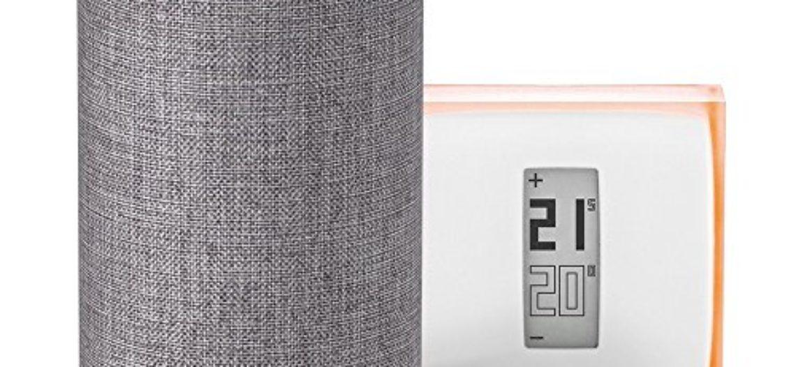 """[Bon Plan Netatmo] Amazon Echo (2ème génération), Tissu gris chiné + Thermostat Connecté Netatmo by Starck<span class=""""wtr-time-wrap block after-title""""><span class=""""wtr-time-number"""">1</span> min de lecture pour cet article.</span>"""