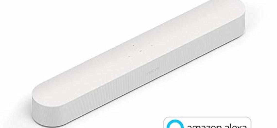 """[Bon Plan Amazon] Sonos Beam – La Barre de Son TV compacte et intelligente avec le service vocal Amazon Alexa intégré. Home Cinéma multiroom sans Fil et musique en Streaming dans toutes les pièces – Blanc<span class=""""wtr-time-wrap block after-title""""><span class=""""wtr-time-number"""">1</span> min de lecture pour cet article.</span>"""