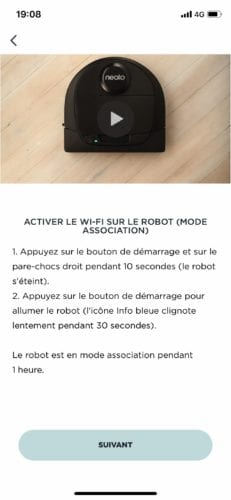 neato-d6-1205-231x500 Présentation et test du Robot aspirateur D6 de chez Neato Botvac