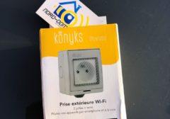## Test de la prise extérieure wi-fi Pluviose de chez Konyks