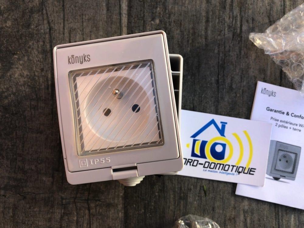 img-7657konyks-1000x750 ## Test de la prise extérieure wi-fi Pluviose de chez Konyks
