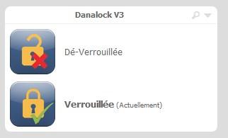 07-2 Intégration de la serrure connectée Danalock V3 sur Eedomus