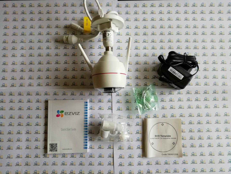02 Ezviz C3W, test de la caméra extérieure