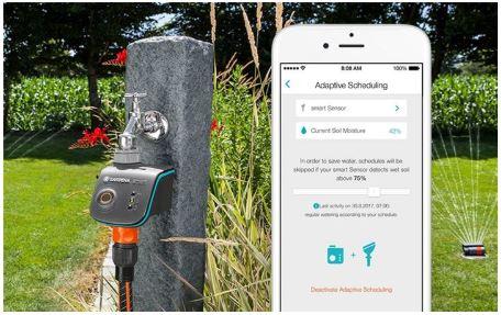 02 Gardena innove avec sa gamme Smart System pour le jardin de demain