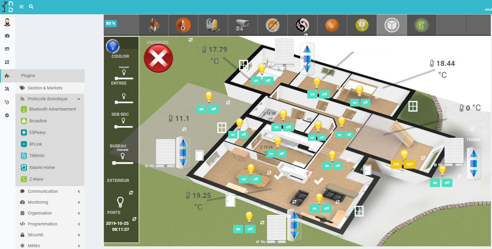 nextdom-19 NextDom, une solution domotique ouverte et libre !