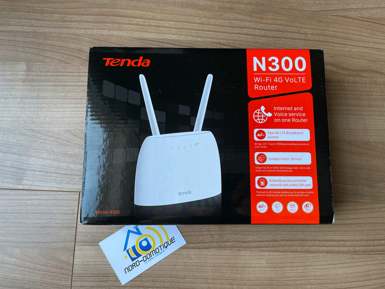Tenda N300 Wi-Fi 4G